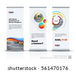 abstract business vector set of ... | Shutterstock .eps vector #561470176