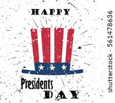 Happy Presidents Day Black...