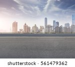 ground roads and the city... | Shutterstock . vector #561479362