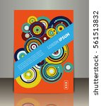 vector business brochure or... | Shutterstock .eps vector #561513832