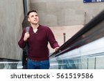Young Man At Station On The...