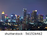 city blurred lights night view  ... | Shutterstock . vector #561526462