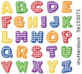 Alphabet  Original Letter...