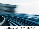 abstract blurred motion moving... | Shutterstock . vector #561532786