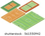 football  basketball  tennis... | Shutterstock .eps vector #561550942