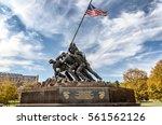 washington dc  usa  circa... | Shutterstock . vector #561562126