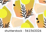 multicolor abstract pattern... | Shutterstock .eps vector #561563326
