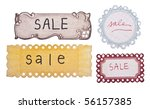 Handwritten Sale Tags With A...