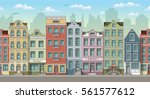 seamless cityscape background... | Shutterstock .eps vector #561577612