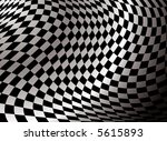 checkered flag abstract background in black and white with a gradient