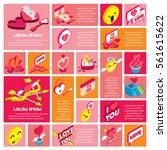 illustration of info graphic... | Shutterstock .eps vector #561615622