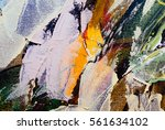 painted abstract background. | Shutterstock . vector #561634102