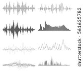 sound waves | Shutterstock .eps vector #561635782