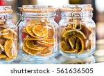 Dried Sliced Oranges In Jar For ...