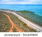bird's eye view of broome beach ...   Shutterstock . vector #561645805