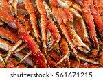 King Crabs Meat. Sea Food...