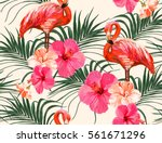 beautiful seamless vector... | Shutterstock .eps vector #561671296