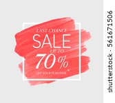 sale final up to 70  off sign... | Shutterstock .eps vector #561671506
