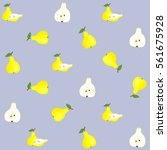 vector seamless pattern... | Shutterstock .eps vector #561675928