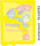 children's day | Shutterstock .eps vector #56168581