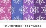 Set Of Vector Seamless Pattern...