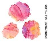 vector illustration of abstract ... | Shutterstock .eps vector #561748105