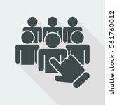 recruitment icon   Shutterstock .eps vector #561760012