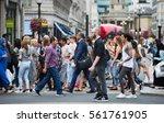 london  uk   august 24  2016  ... | Shutterstock . vector #561761905