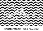 Stock vector zig zag vector seamless pattern on abstract grunge wave black and white geometric lines texture for 561762352