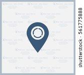 arrows circle vector map pointer   Shutterstock .eps vector #561775888