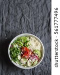 couscous and vegetables bowl....