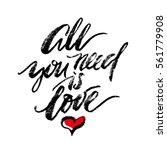 inspirational lettering all you ...   Shutterstock .eps vector #561779908