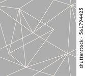 vector seamless triangles...   Shutterstock .eps vector #561794425