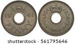 British Fiji Fijian Coin 1 One...