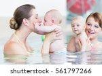 newborns and their mums at... | Shutterstock . vector #561797266