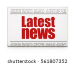 news concept  newspaper... | Shutterstock . vector #561807352