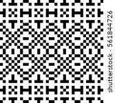 vector seamless pattern.... | Shutterstock .eps vector #561844726