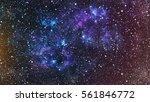 deep space. high definition...   Shutterstock . vector #561846772