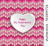 knitter seamless pattern ... | Shutterstock .eps vector #561859726
