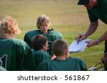 halftime at a football game | Shutterstock . vector #561867