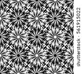 abstract decorative vector... | Shutterstock .eps vector #561915022