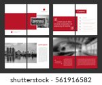 corporate design annual report... | Shutterstock .eps vector #561916582