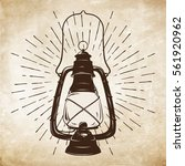 hand drawn grunge sketch... | Shutterstock .eps vector #561920962