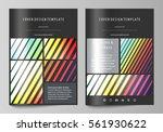 business templates for brochure ... | Shutterstock .eps vector #561930622