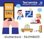 business man on smart phone....   Shutterstock .eps vector #561948655