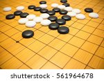 go game or weiqi  chinese board ...   Shutterstock . vector #561964678