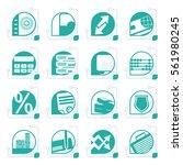 stylized bank  business ...   Shutterstock .eps vector #561980245