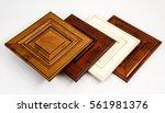 modern style of wooden kitchen... | Shutterstock . vector #561981376