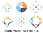 business infographics. elements ... | Shutterstock .eps vector #561981718