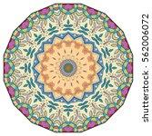 mandala flower decoration ...   Shutterstock .eps vector #562006072